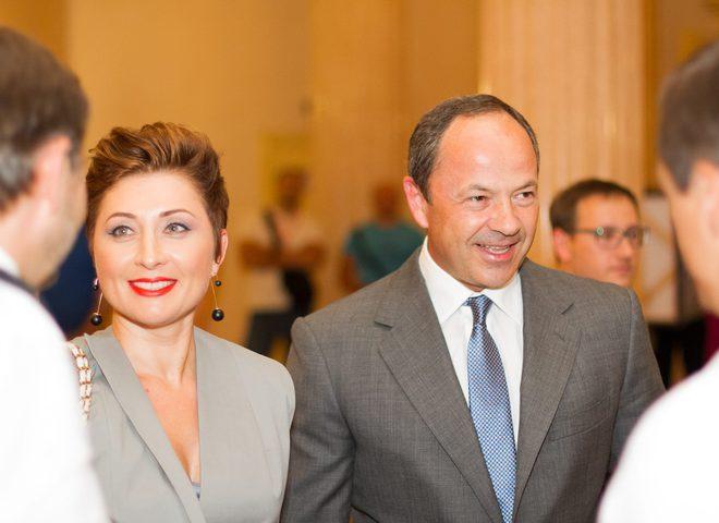 Сергій і Вікторія Тигипко