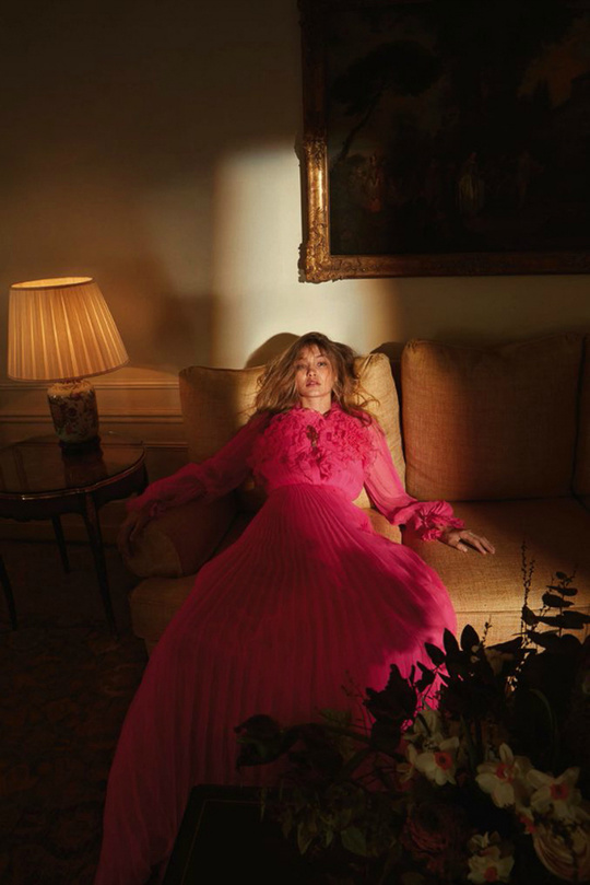 Джіджі Хадід для Vogue Germany