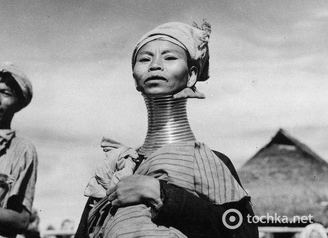 Бирманский народ Падаунг