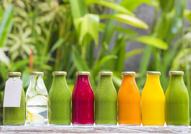 Топ-9 соків для очищення організму і спалювання жиру