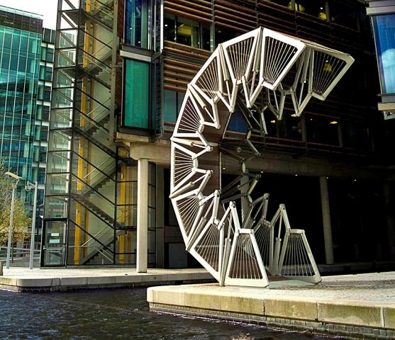Необычные сооружения нашей планеты: Мост Rolling, Великобритания