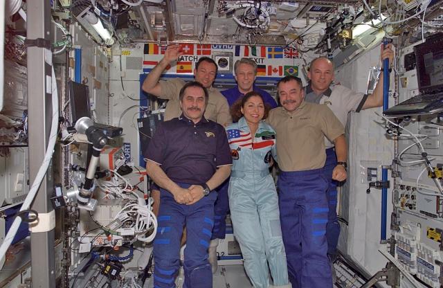 Космічні туристи: Ансарі Ануше