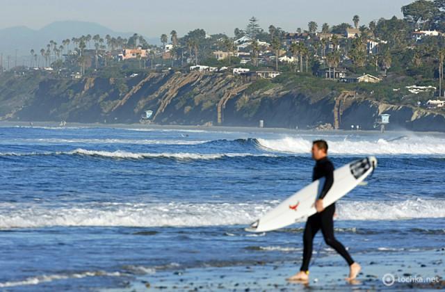Лучшие места для серфинга: Калифорния, Северная Америка