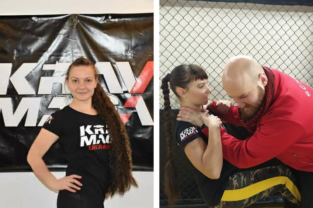Антоніна Марінат, інструктор по самообороні і крав-мага
