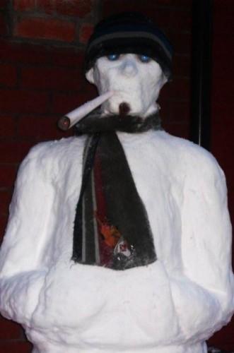 Гопо-снеговик