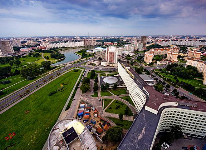 Минск с высоты
