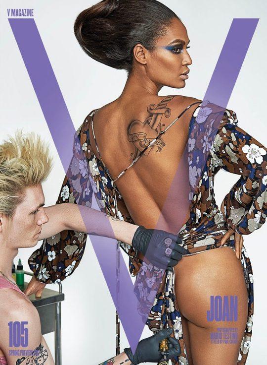 Кендалл Дженнер, Лара Стоун и другие модели показали свои татуировки в съемке для глянца