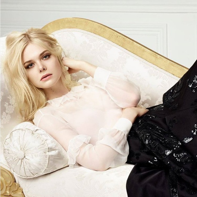 Эль Фэннинг лицо L'Oréal Paris