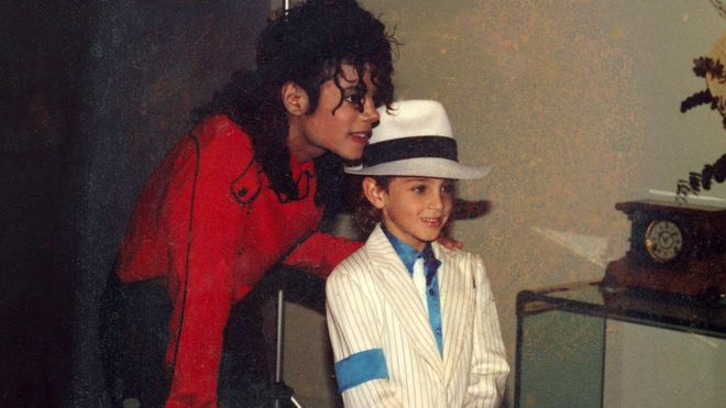 Майкл Джексон і Уейд Робсон у 90-х