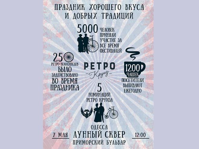 Весняний Ретро Круїз відбудеться в Одесі