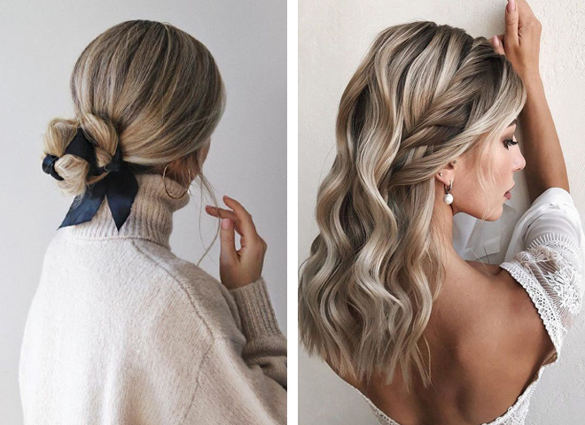 Прості зачіски в офіс