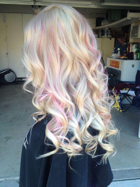 Фарбування волосся для блондинок на осінь