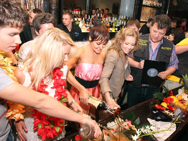 Открытие ресторана Mai Tai Lounge