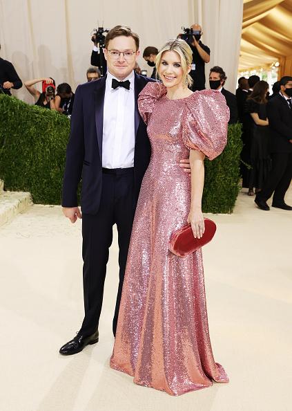 Чарльз Шаффер і Елізабет Шаффер на Met Gala 2021