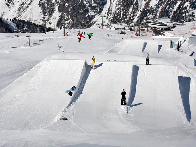 Зимові курорти Австрії. Курорт Ішгль