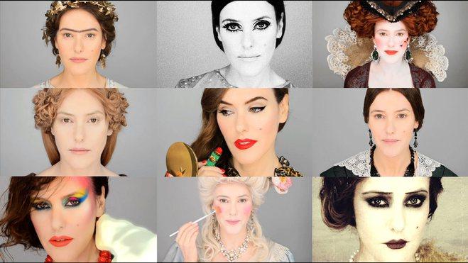 Эволюция макияжа