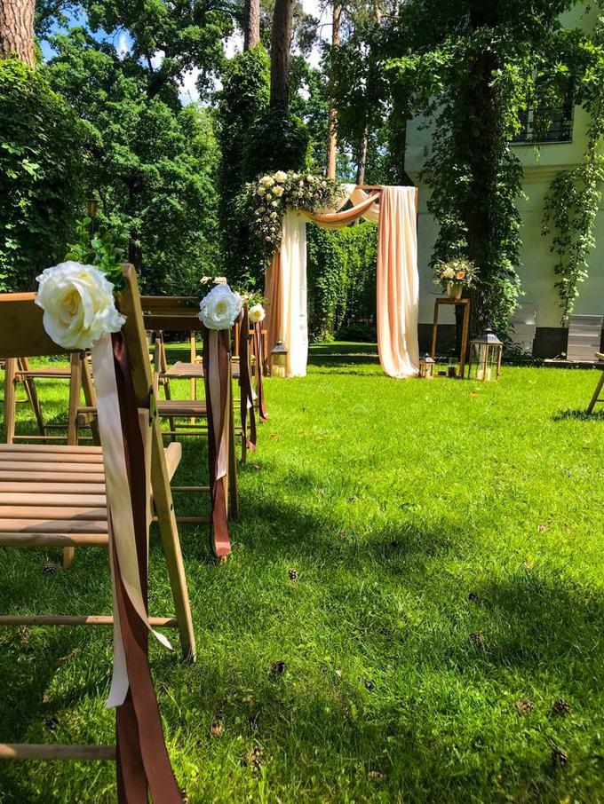 Декор заміського весілля