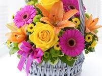 Яскраві квіти до Дня Народження