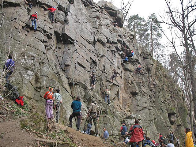 Скелелазіння в Україні: Скельний район Дениші