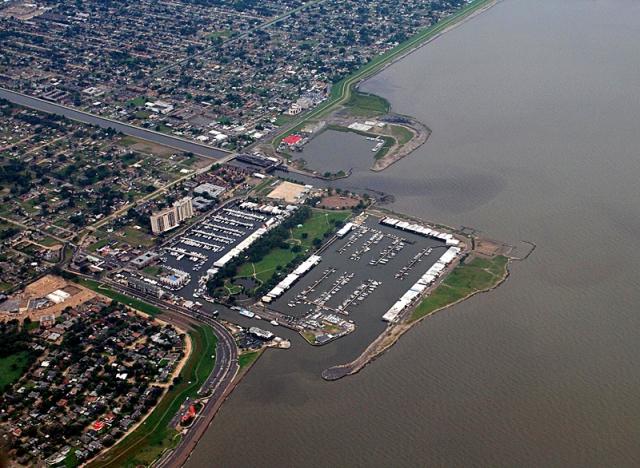 Міста вище і нижче рівня моря: Новий Орлеан, США