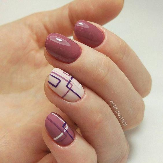 20 оригинальных идей маникюра на 8 Марта для коротких ногтей