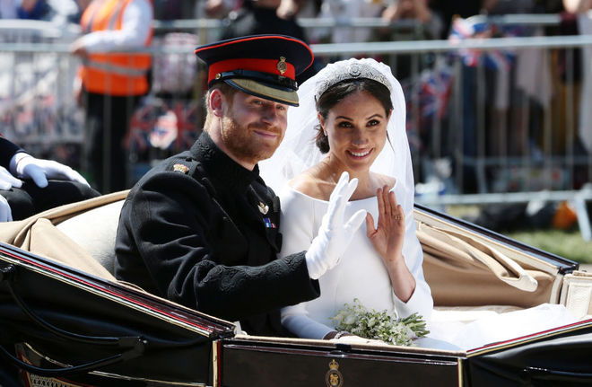 весілля принца Гаррі і Меган Маркл в фотографіях
