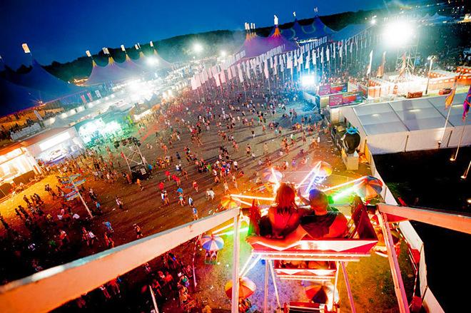 Путешествие на музыкальный фестиваль: Pukkelpop Festival