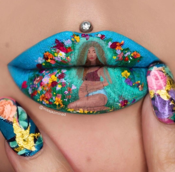 Искусство на губах
