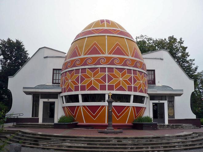 Куда поехать на Пасху: Музей писанки (Коломыя)