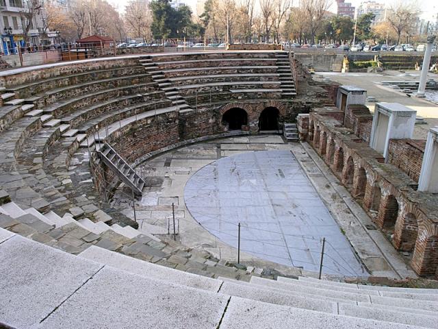 Цікаві місця Салоніки: Римський форум