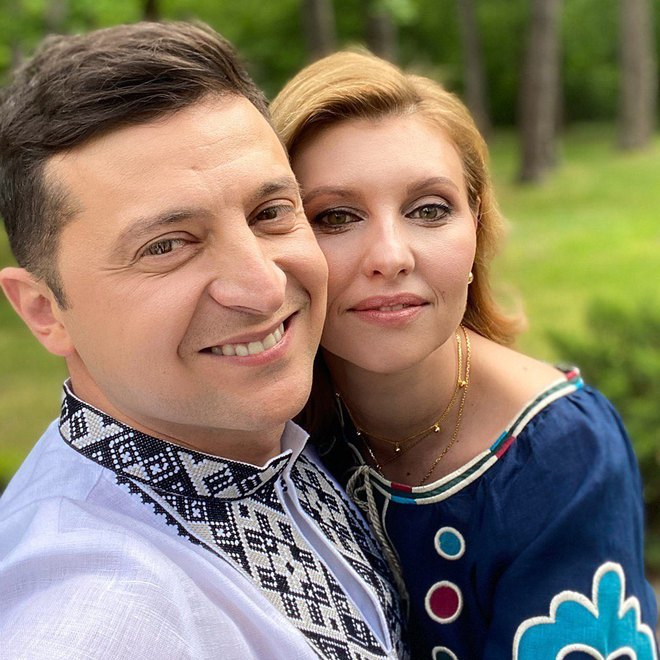 Олена Зеленська та Володимир Зеленський