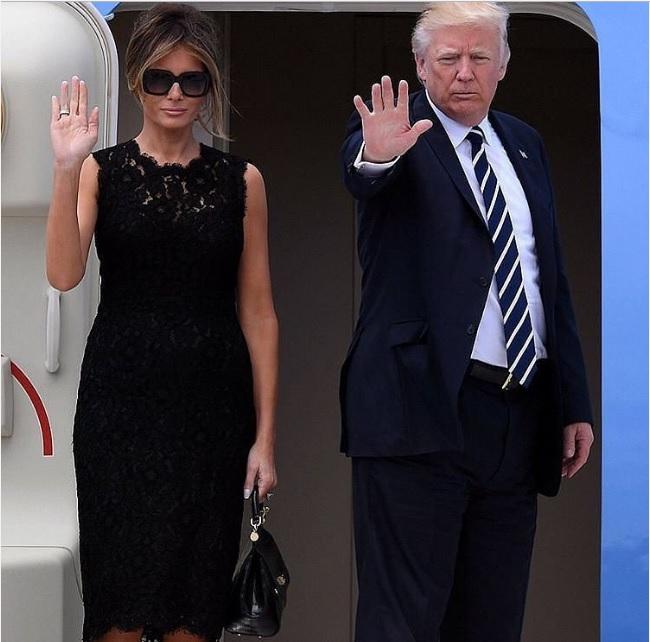 Модна перемога Меланії Трамп