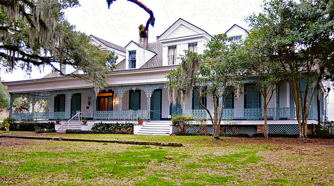 Хэллоуин в США 2013. The Myrtles Plantation