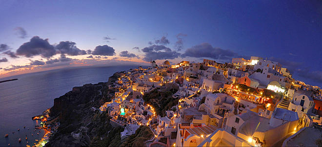 Острова Греции: Санторини