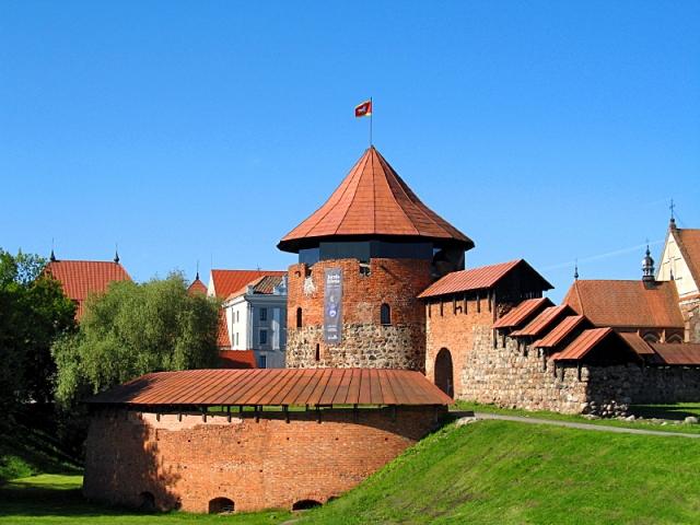 Достопримечательности Литвы: Каунасский замок