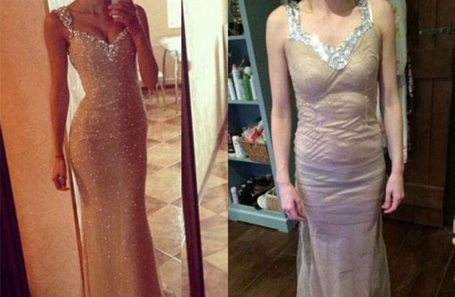 Платье на свадьбу. Ожидание и реальность