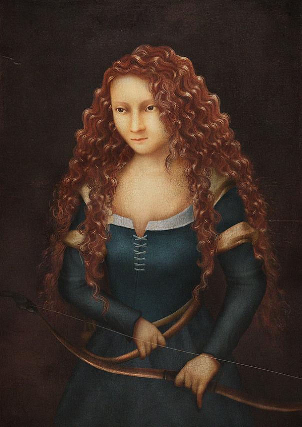 Принцессы Дисней в эпоху Ренесанс
