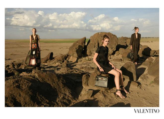 Рекламная кампания Valentino весна 2016