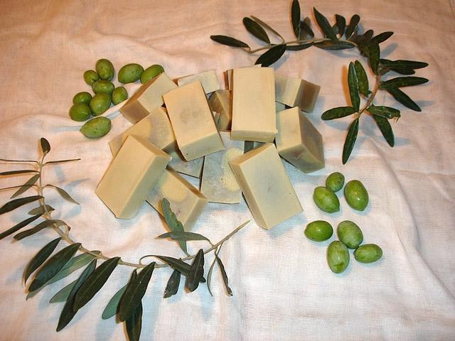 Що купити в Греції: оливкова мило