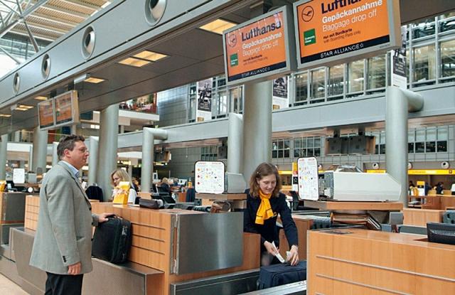Потеря багажа в аеропорту: Lufthansa