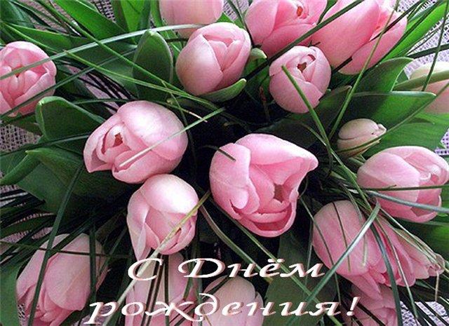 Тюльпаны ко дню рождения
