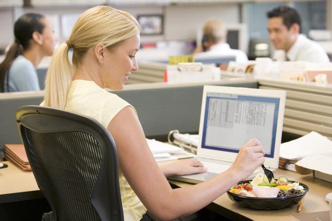 Здоровое питание в офисе