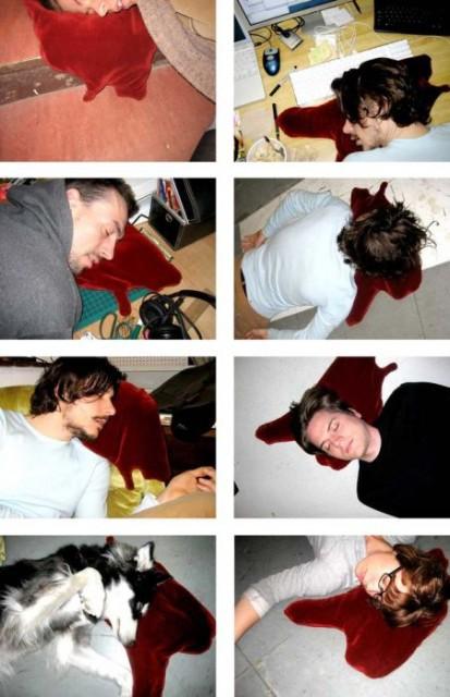 Креативная подушка