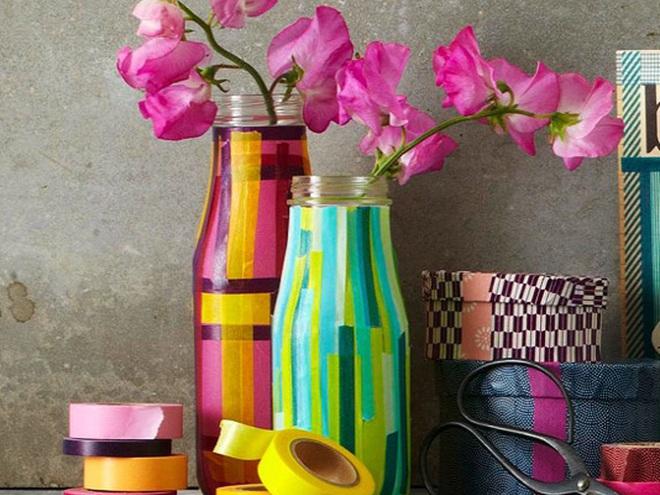 Своими руками ваза для цветов