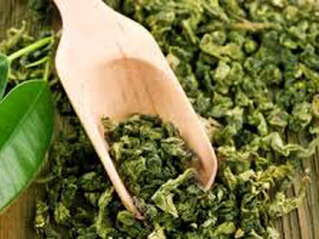 Чай зеленый с молоком