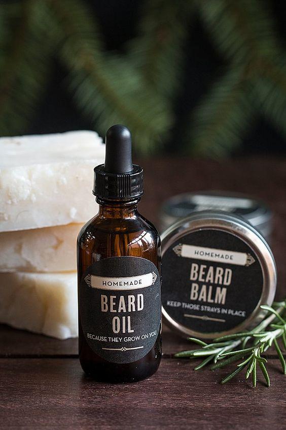 Що подарувати бородатому чоловіку: масло для бороди