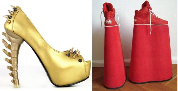 ТОП самых безумных пар обуви