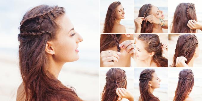 15 ідей для зачіски з косою на довге волосся