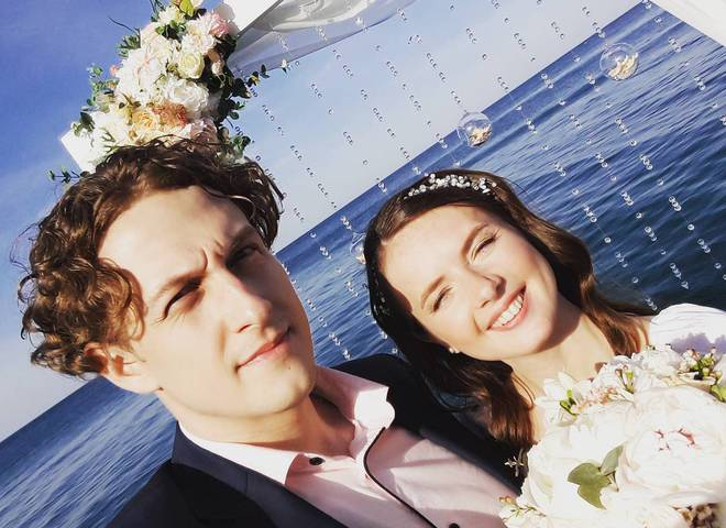 Офіційно: ведучий Святослав Гринчук одружився