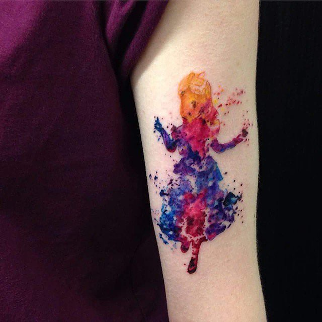 Татуировки только для принцесс